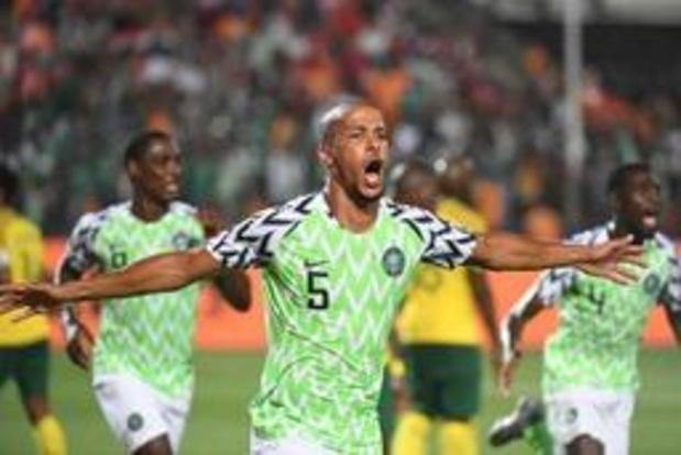 CAN 2019 - Le Nigeria se fait peur mais émerge contre l'Afrique du Sud et file en demies