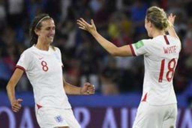 WK vrouwenvoetbal - Engeland mag als eerste naar halve finales