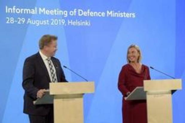 Le changement climatique pour la 1e fois à l'agenda des ministres UE de la Défense