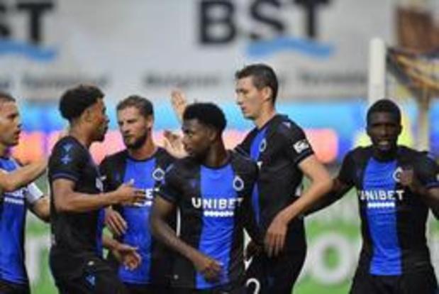 Club Brugge en STVV trappen vrijdagavond speeldag twee op gang