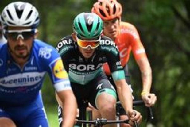 La 6e étape pour le Français Alaphilippe après 217 km d'échappée, Adam Yates reste leader