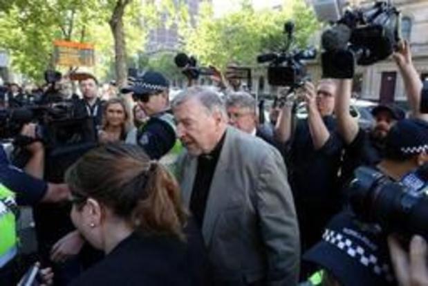 Australie: le cardinal Pell, condamné pour pédophilie, ne fera pas appel de sa peine
