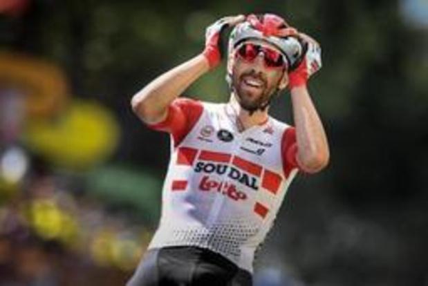 """Tour de France - De Gendt: """"Deze zege is mooier dan die op de Ventoux"""""""