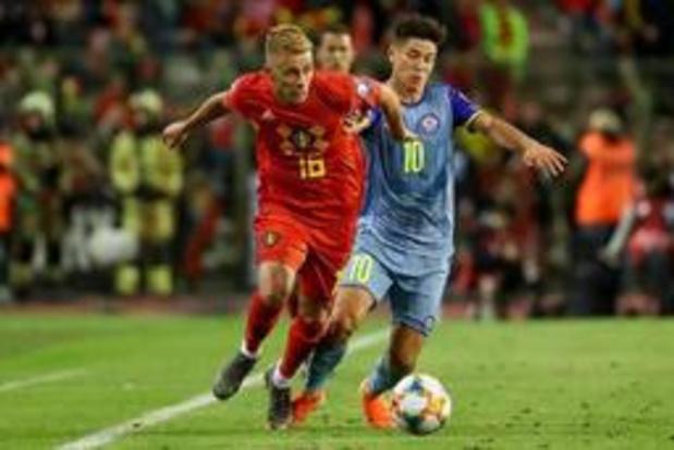 """Diables Rouges - """"Il fallait vite marquer et gérer le match"""", commente Thorgan Hazard"""