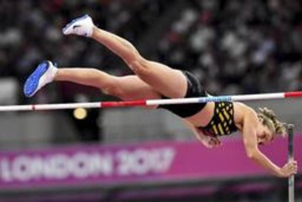 Fanny Smets evenaart eigen Belgisch record polsstokspringen