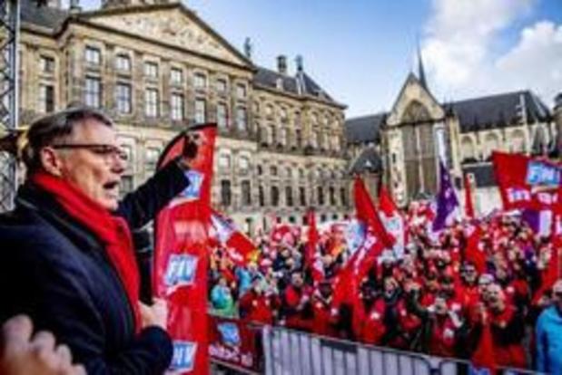 Nederland: aantal vakbondsleden gaat achteruit