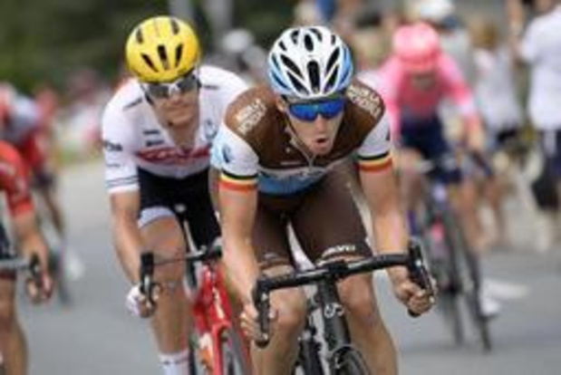 "Tour de France - Oliver Naesen wordt vierde: ""Plannetje werkte niet"""
