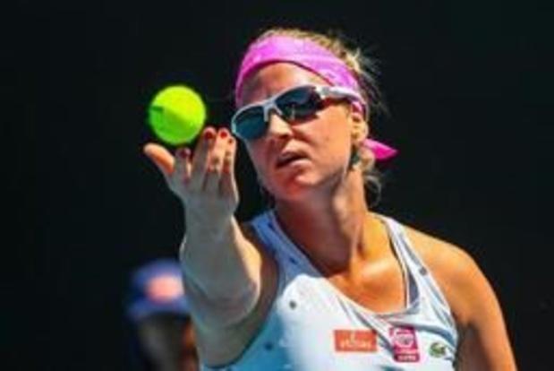 WTA Bogota - Ysaline Bonaventure verliest ook in dubbel