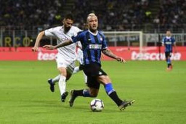 Nainggolan redt Champions League-ticket voor Inter, ook Atalanta en Castagne in top vier