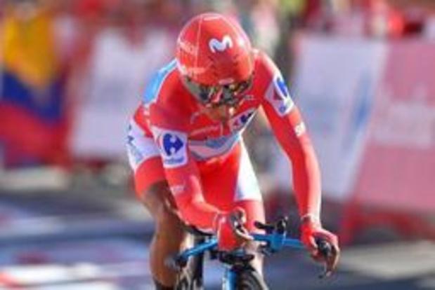 Nairo Quintana espérait perdre moins de temps dans le chrono