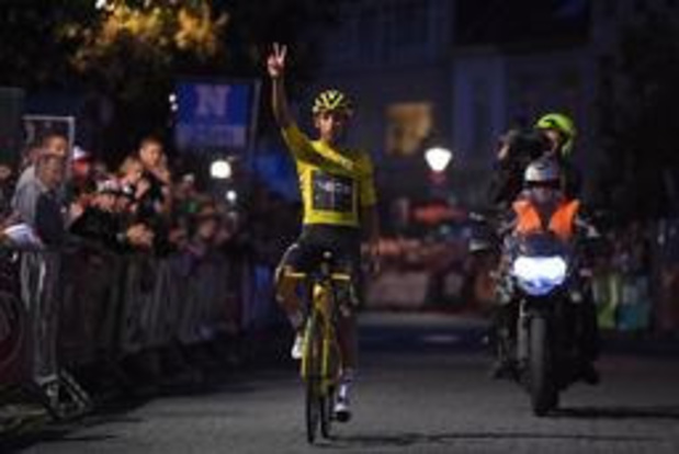 Egan Bernal wint na-Tourcriterium in Herentals