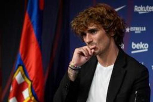 Primera Division - Griezmann hoopt bij Barcelona ploegmaats te overtuigen door goed te spelen
