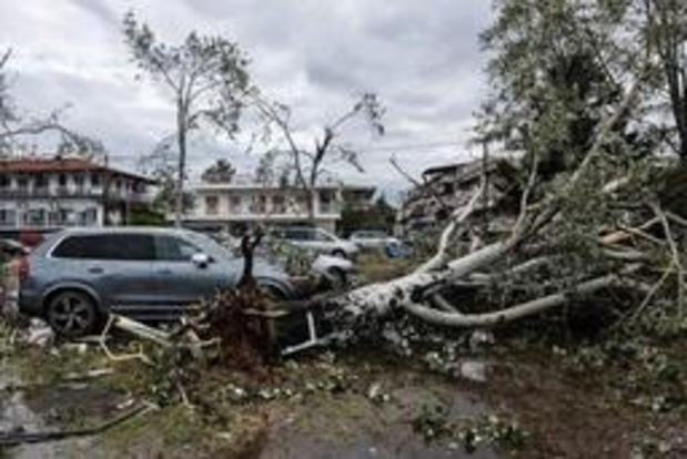 Geen Belgen bij doden en gewonden na tornado in Griekenland