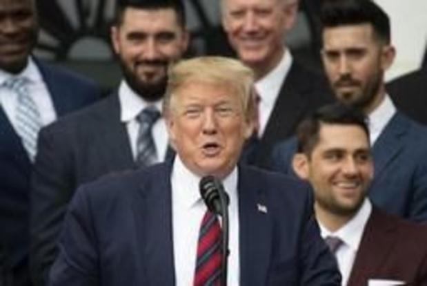 """Trump: """"Geen haast met sluiten deal"""""""