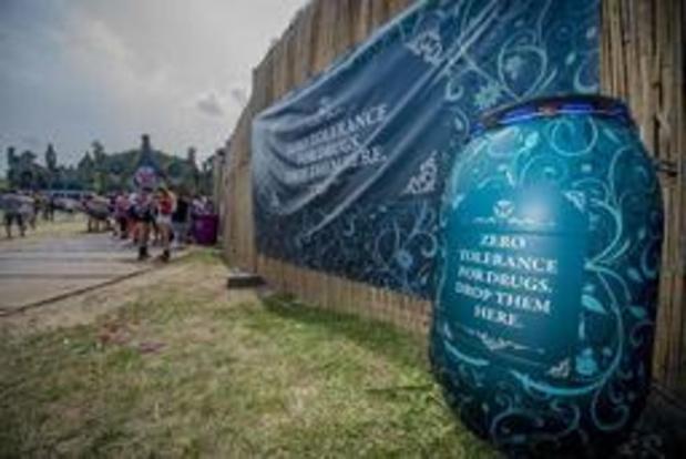 Politie betrapt 61 drugsdealers en 460 gebruikers over twee Tomorrowland-weekends