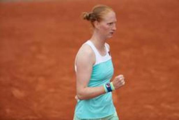 WTA Rosmalen: Alison Van Uytvanck rejoint Kirsten Flipkens au deuxième tour