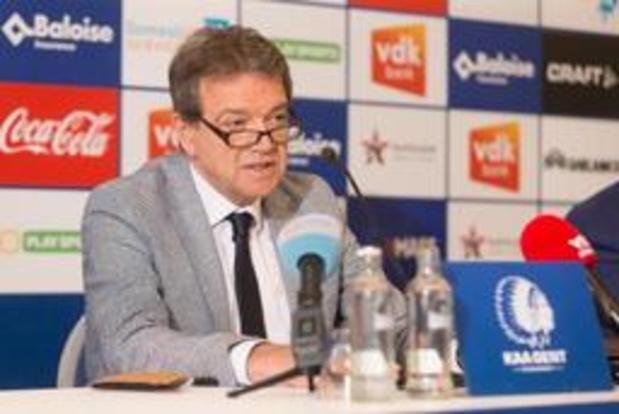 """Suspicion de fraude dans le milieu du football - La Gantoise finalement européen: """"Une montagne russe d'émotions"""""""