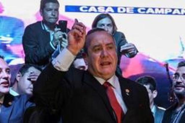 Giammattei wint presidentsverkiezingen in Guatemala