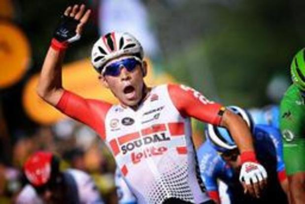 Tour de France - Ewan pakt derde ritzege op Champs-Elysées, Bernal pronkt als eindwinnaar