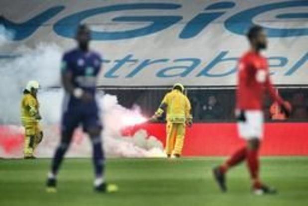 Plus de stewards dans les stades après les incidents lors du match Standard-Anderlecht