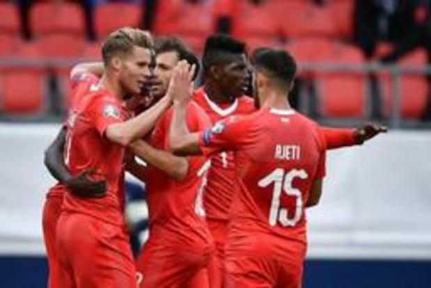 Kwal. EK 2020 - Zwitserland heeft geen moeite met Gibraltar, Denemarken laat punten liggen in Georgië