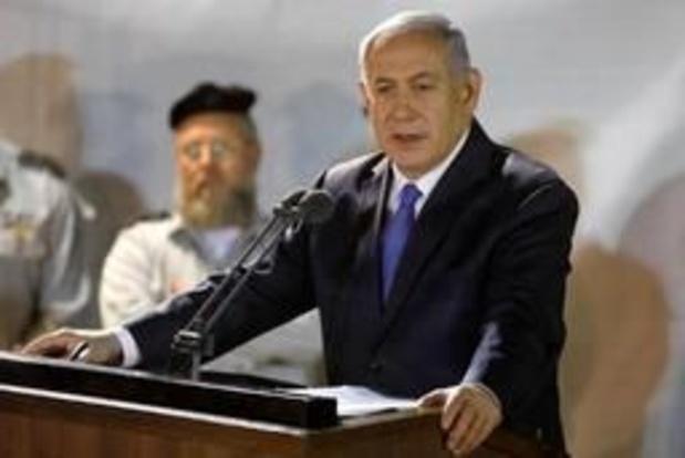 Verkiezingen Israël - Netanyahu belooft annexatie van delen Westelijke Jordaanoever