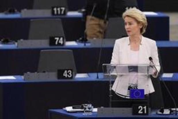 """Ursula von der Leyen promet un """"green deal"""" européen"""
