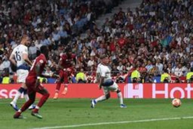 Champions League - Liverpool verslaat Tottenham met 2-0 in finale, Origi legt eindstand vast