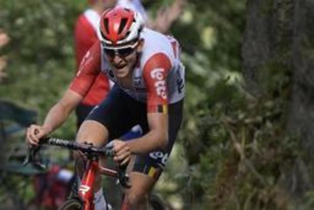 Tour de France - 9e étape - Tiesj Benoot regrette cette occasion manquée