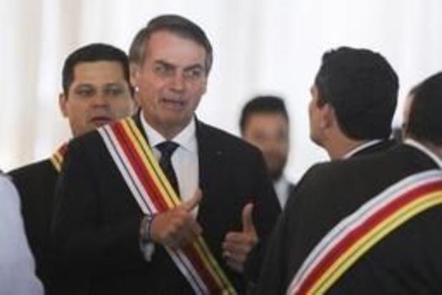 Le Brésil de Bolsonaro divisé au 55e anniversaire du coup d'Etat militaire