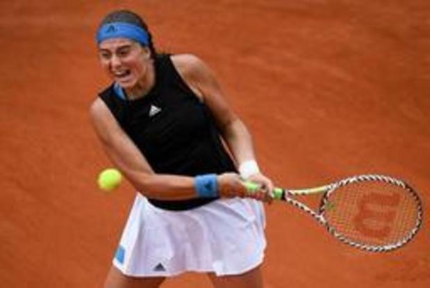 Ostapenko, éliminée d'entrée, n'a plus remporté un match à Roland-Garros depuis son sacre