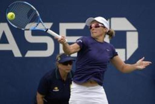 US Open - Kirsten Flipkens schakelt andere lucky loser uit voor plaats in tweede ronde