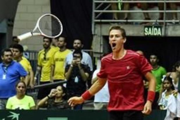 David Goffin conserve sa 21e place au classement ATP