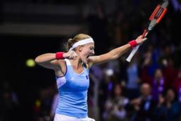 US Open - La Française Kristina Mladenovic élimine Angelique Kerber