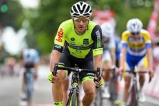 Tour du Luxembourg - Pas de fracture pour le Français Justin Jules, communique Wallonie-Bruxelles