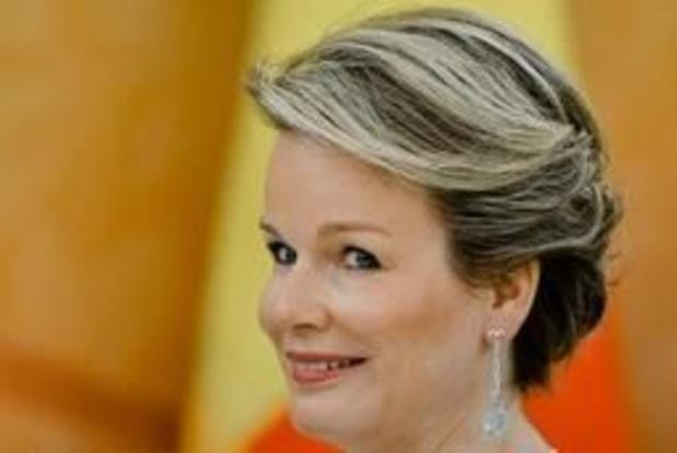 """""""Nous devons briser le tabou entourant la santé mentale"""", plaide la reine Mathilde"""