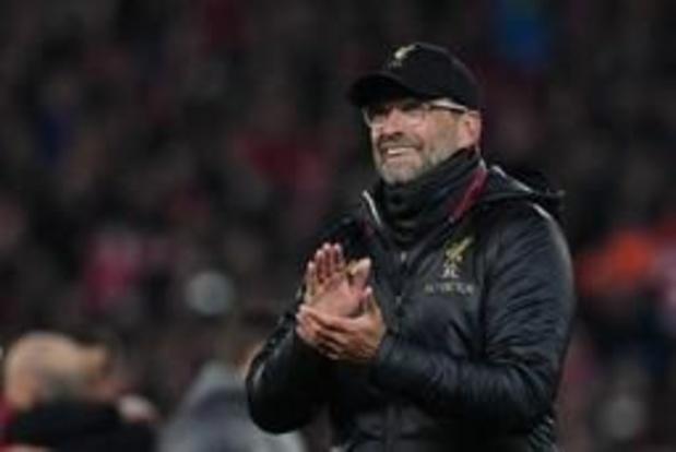 """Ligue des champions - Jürgen Klopp """"submergé par l'émotion"""" après la qualification"""