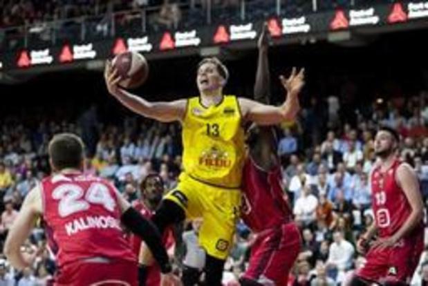 Euromillions Basket League - Ostende s'impose encore à Anvers et reprend l'avantage à 2-1