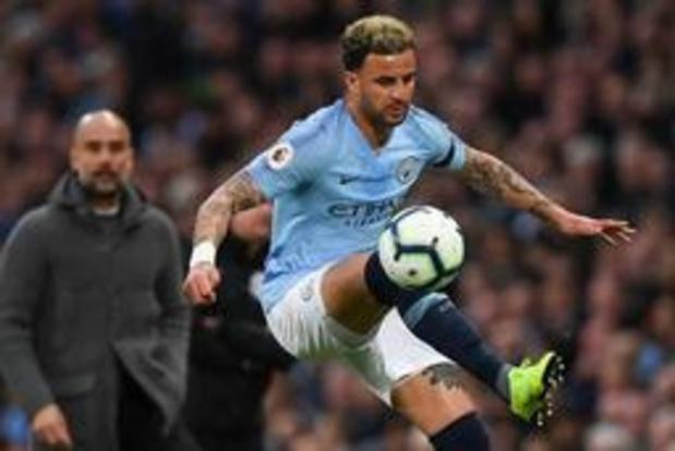 Premier League - Kyle Walker prolonge à Manchester City