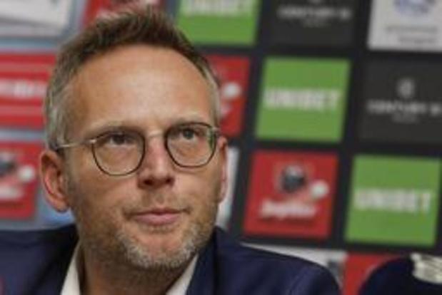 Jupiler Pro League - Le nouveau président Peter Croonen partisan des playoffs