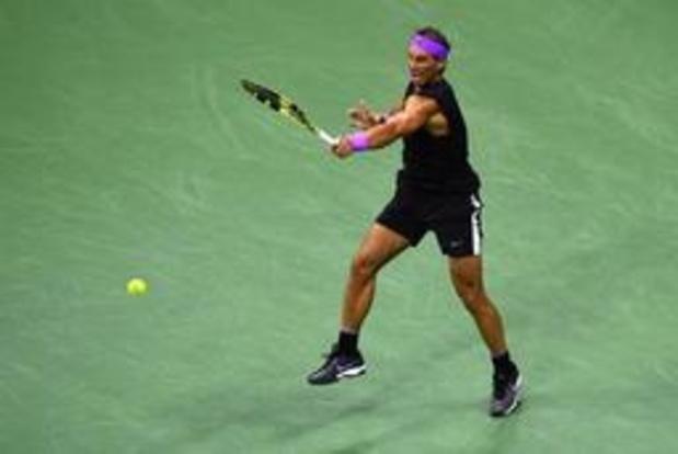 US Open - Nadal blijft op koers voor nieuwe eindzege in New York
