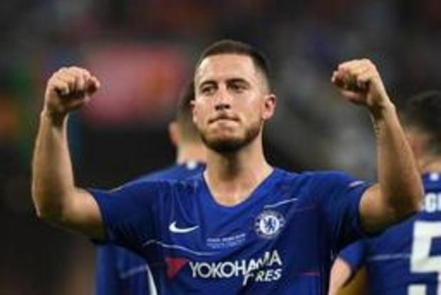 Europa League - Eden Hazard schenkt Chelsea opnieuw Europese beker