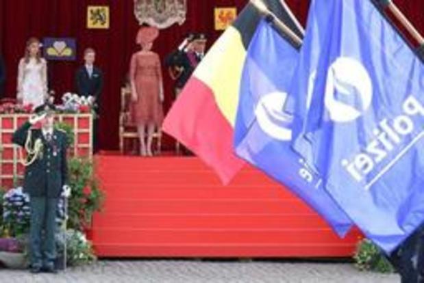 Fête nationale - Défilé militaire et civil pour la Fête nationale et les 75 ans de la Libération