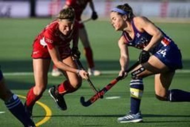 Les Red Panthers s'inclinent logiquement 2-0 en Grande-Bretagne