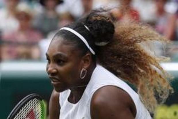 Serena Williams staat in achtste finales