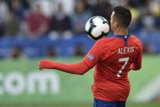 Serie A - Alexis Sanchez volgt Romelu Lukaku en wordt door Manchester United uitegeleend aan Inter