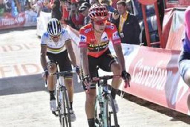 Tour d'Espagne - Roglic, qui a fait un pas de plus vers la victoire finale, a salué la prestation de Kuss