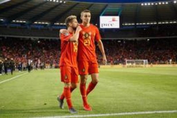 Rode Duivels - Timothy Castagne is fier op eerste goal voor nationale ploeg
