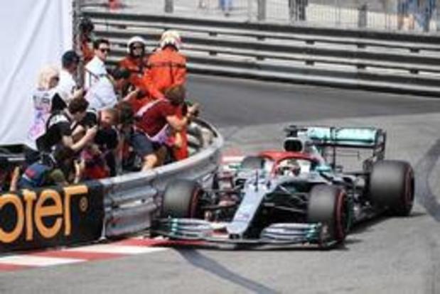 Lewis Hamilton s'élancera de la première position à Monaco