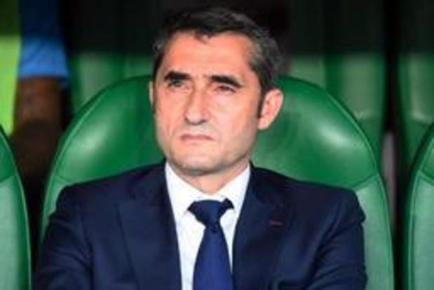 Roberto Martinez pourrait rejoindre le FC Barcelone si Ernesto Valverde s'en va